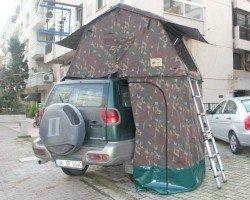 Gipsy Sport Kamuflaj Araç Üstü Çadır