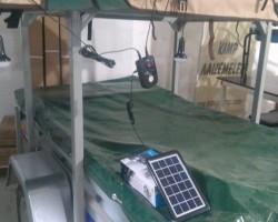 Gipsy Solar Panelli Kamp Lambası